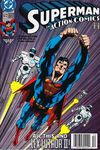 Action Comics #672 Comic Books - Covers, Scans, Photos  in Action Comics Comic Books - Covers, Scans, Gallery