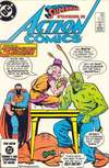 Action Comics #563 comic books for sale