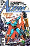 Action Comics #584 comic books for sale