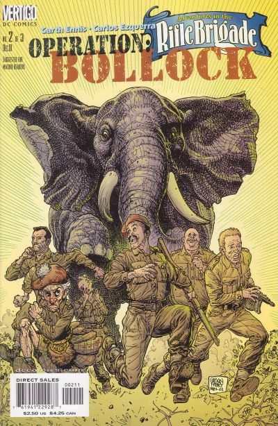 Adventures in the Rifle Brigade: Operation Bollock #2 comic books for sale