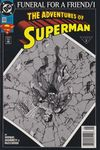 Adventures of Superman #498 comic books for sale