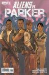 Aliens vs. Parker Comic Books. Aliens vs. Parker Comics.