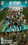 Aliens vs. Zombies Comic Books. Aliens vs. Zombies Comics.