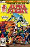 Alpha Flight comic books