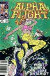 Alpha Flight #14 comic books for sale