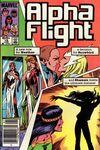 Alpha Flight #18 comic books for sale