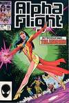 Alpha Flight #19 comic books for sale