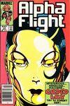 Alpha Flight #20 comic books for sale