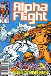 Alpha Flight #23 Comic Books - Covers, Scans, Photos  in Alpha Flight Comic Books - Covers, Scans, Gallery