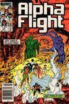 Alpha Flight #24 comic books for sale