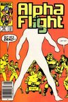 Alpha Flight #25 comic books for sale