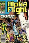 Alpha Flight #26 comic books for sale