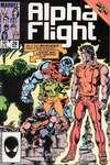 Alpha Flight #28 comic books for sale