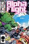 Alpha Flight #29 comic books for sale