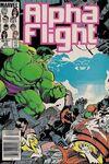 Alpha Flight #29 Comic Books - Covers, Scans, Photos  in Alpha Flight Comic Books - Covers, Scans, Gallery