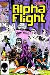 Alpha Flight #33 comic books for sale
