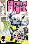 Alpha Flight #36 comic books for sale