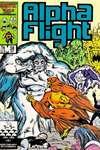 Alpha Flight #38 comic books for sale