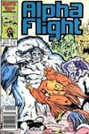 Alpha Flight #38 Comic Books - Covers, Scans, Photos  in Alpha Flight Comic Books - Covers, Scans, Gallery