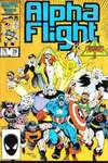 Alpha Flight #39 comic books for sale