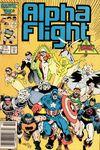 Alpha Flight #39 Comic Books - Covers, Scans, Photos  in Alpha Flight Comic Books - Covers, Scans, Gallery