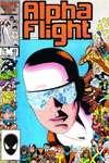 Alpha Flight #40 comic books for sale