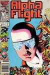 Alpha Flight #40 Comic Books - Covers, Scans, Photos  in Alpha Flight Comic Books - Covers, Scans, Gallery