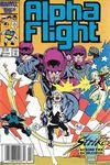 Alpha Flight #43 Comic Books - Covers, Scans, Photos  in Alpha Flight Comic Books - Covers, Scans, Gallery