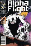 Alpha Flight #45 Comic Books - Covers, Scans, Photos  in Alpha Flight Comic Books - Covers, Scans, Gallery