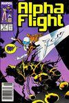 Alpha Flight #47 Comic Books - Covers, Scans, Photos  in Alpha Flight Comic Books - Covers, Scans, Gallery