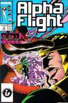 Alpha Flight #50 comic books for sale