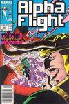 Alpha Flight #50 Comic Books - Covers, Scans, Photos  in Alpha Flight Comic Books - Covers, Scans, Gallery