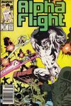 Alpha Flight #51 Comic Books - Covers, Scans, Photos  in Alpha Flight Comic Books - Covers, Scans, Gallery