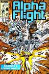 Alpha Flight #57 comic books for sale