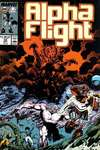 Alpha Flight #58 comic books for sale