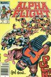 Alpha Flight #5 Comic Books - Covers, Scans, Photos  in Alpha Flight Comic Books - Covers, Scans, Gallery