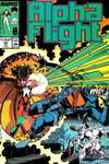 Alpha Flight #60 comic books for sale