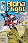 Alpha Flight #63 Comic Books - Covers, Scans, Photos  in Alpha Flight Comic Books - Covers, Scans, Gallery