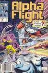 Alpha Flight #66 comic books for sale