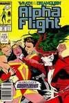 Alpha Flight #70 Comic Books - Covers, Scans, Photos  in Alpha Flight Comic Books - Covers, Scans, Gallery