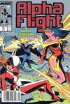 Alpha Flight #72 comic books for sale
