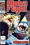 Alpha Flight #77 comic books for sale