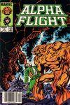 Alpha Flight #9 comic books for sale