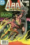 Arak/Son of Thunder #18 comic books for sale