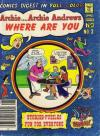 Archie: Archie Andrews Where are You Comics Digest Magazine #3 Comic Books - Covers, Scans, Photos  in Archie: Archie Andrews Where are You Comics Digest Magazine Comic Books - Covers, Scans, Gallery