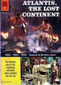 Atlantis: The Lost Continent comic books