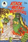 Attack of the Mutant Monsters comic books