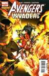 Avengers/Invaders comic books