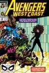 Avengers West Coast comic books