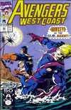 Avengers West Coast #69 comic books for sale
